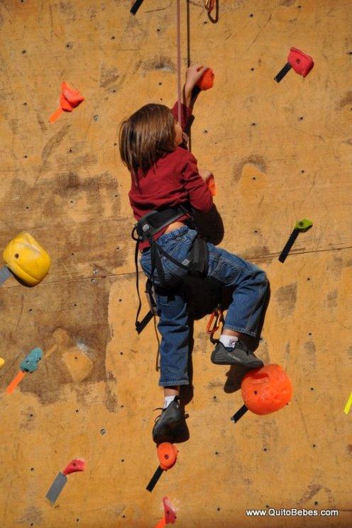 escalar niños
