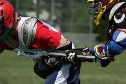 Lacrosse hit