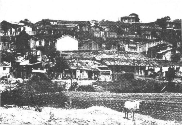 Favela do Vergueiro, 1965~1968 (Fonte: Geografia do subdesenvolvimento, Yves Lacoste, 1975)