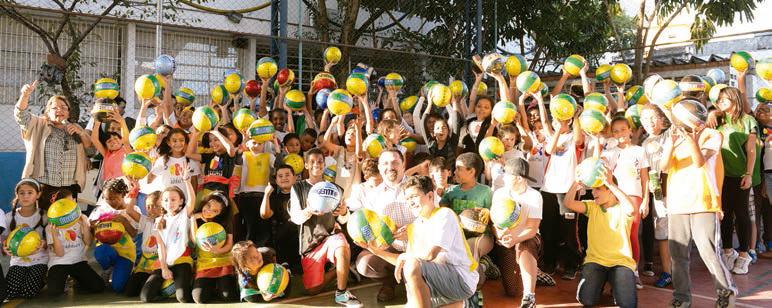 Ball to All: iniciativa chega ao Brasil