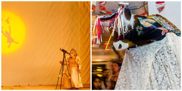 Teatro para crianças e Bumba meu Boi no Sesc Vila Mariana