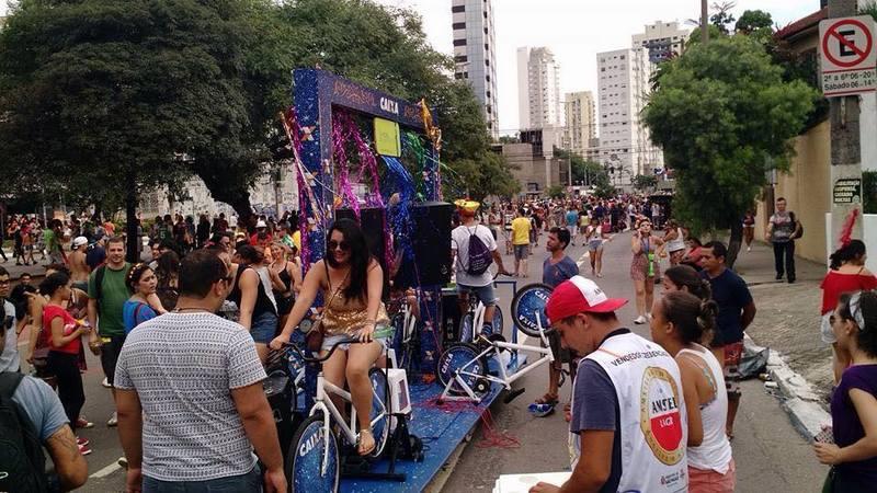 Bloco do Pedal une folia com sustentabilidade na Vila Mariana no dia 18/02