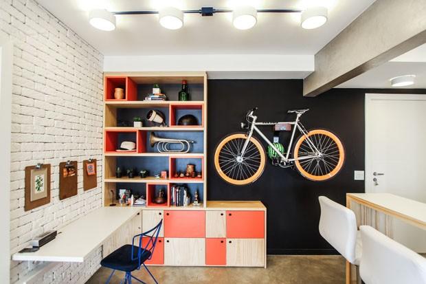 Lugar de bike também é dentro de casa!
