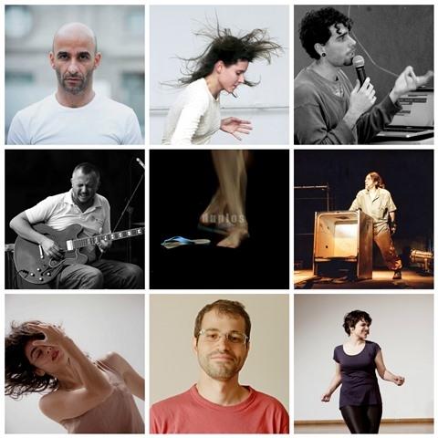 DUPLOS: série de performances improvisadas evidenciam a íntima relação entre bailarinos e músicos, no Sesc Vila Mariana