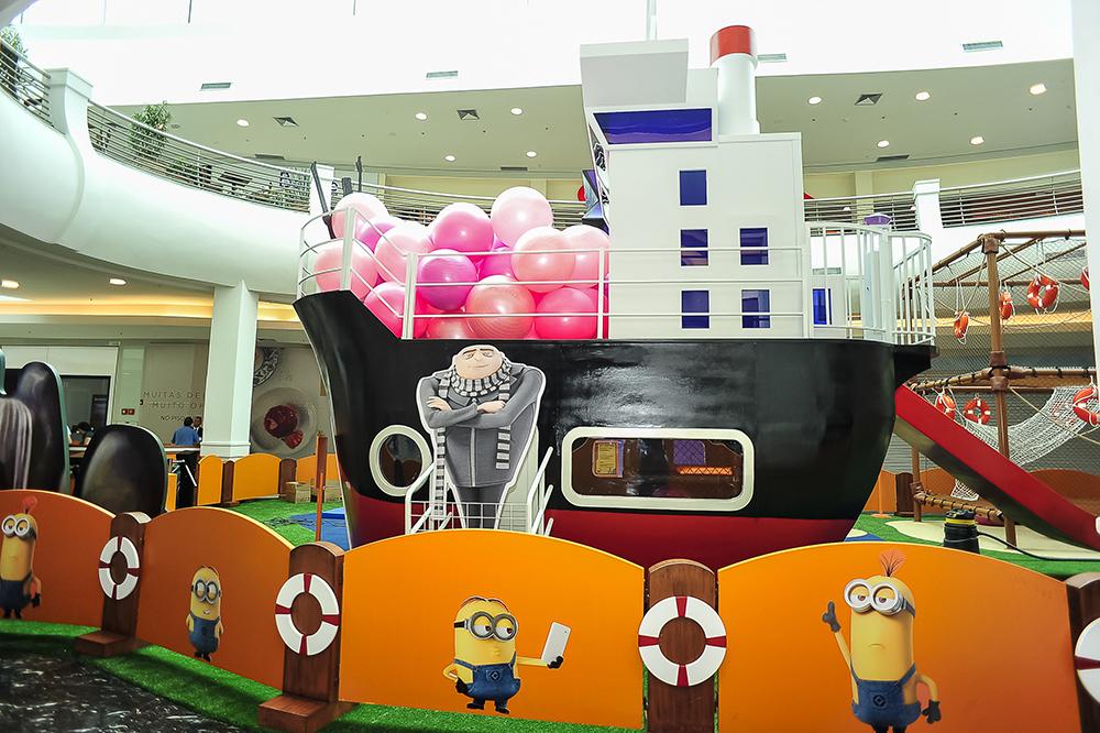 Parque dos Minions chega ao Mooca Plaza Shopping