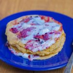 Swedish Pancakes are light and deliciously eggy… unlike anything you've ever tried! You may never go back to traditional pancakes again! Recipe: http://chocolatecoveredkatie.com/2015/09/24/swedish-pancakes-recipe-healthy-vegan/