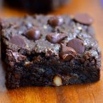 chocolate chip brownie bars
