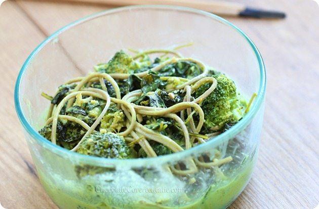 green noodle