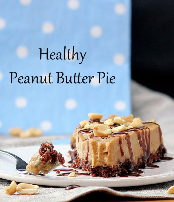 healthy peanut butter pie