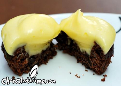 cupcake-platano-chocolate