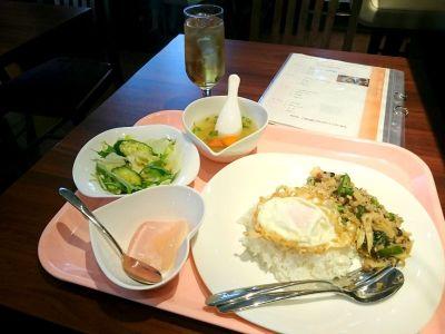 Aセット:ガパオランチセット(オーキッドキッチン)