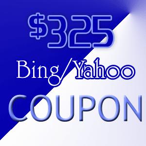 bing coupons