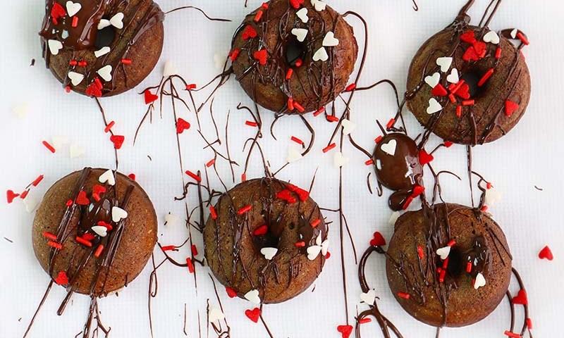 donitas de brownie