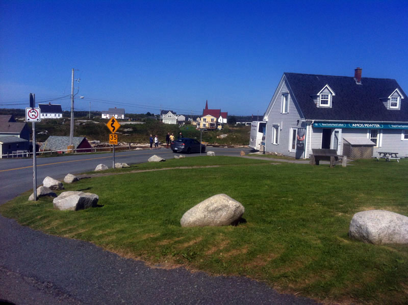 Peggy's cove tourism