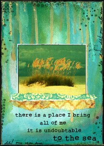 There is a place I bring all of me...