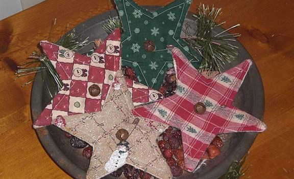 Primitive Christmas Stars