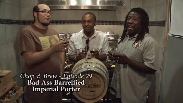 C&B 29 - Bad Ass Barrelfied Imperial Porter.Still004