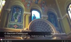 Richard J. Clark - O Sacrum Convivium