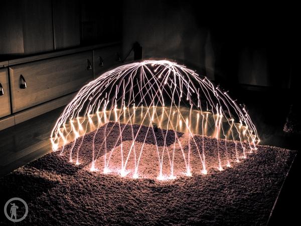 Lightpainting - Dome