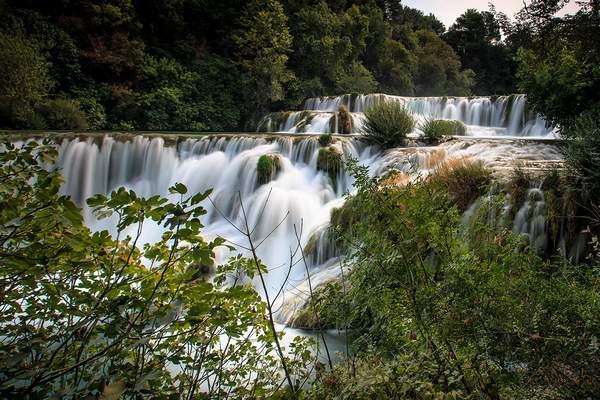 Krka Wasserfall