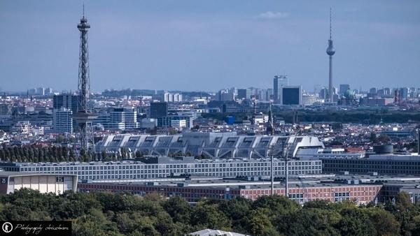 Blick über Berlin vom Teufelsberg