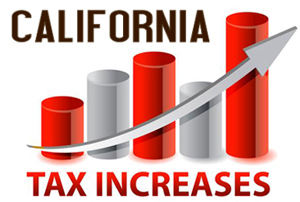 California Tax Increases