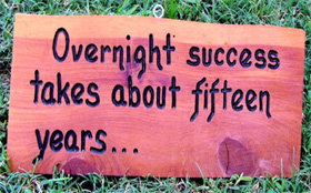 Secret Of Overnight Success