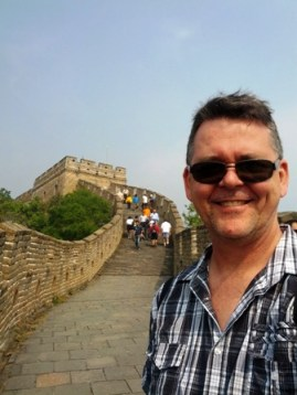 Me on the Great Wall of China