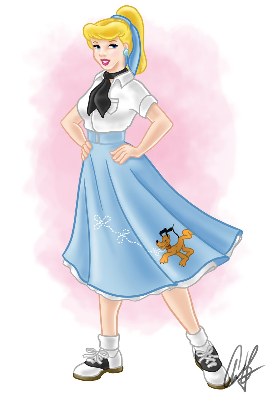 50s-style Cinderella