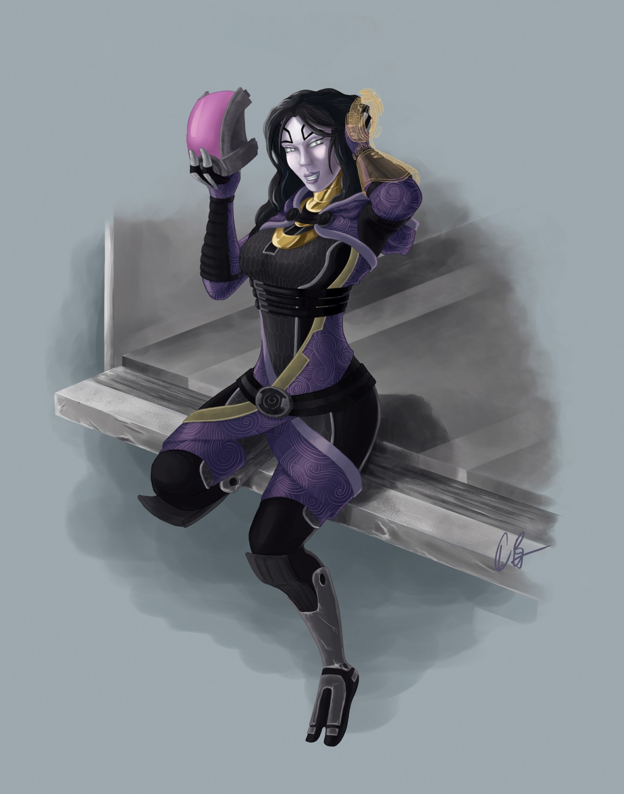 Tali Pin-Up