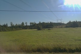 On the road in Helsinki