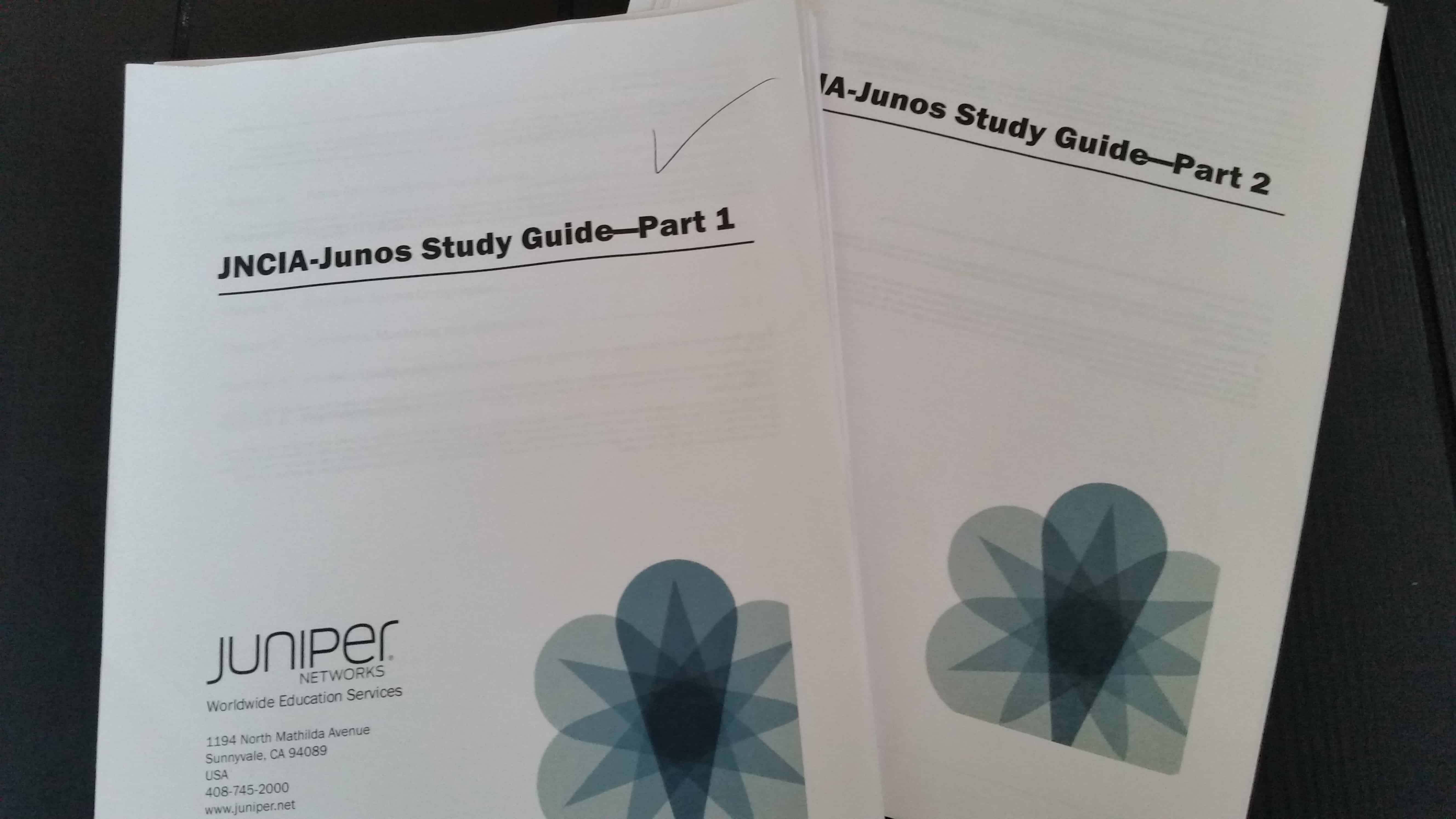 Juniper Tips from the JNCIA-Junos Study Guides