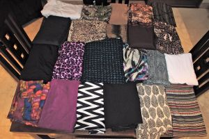 Fabrics purchased in Bali