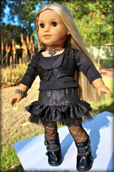 American Girl - Rock Chick Outfit - Full View