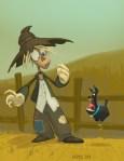 Scarecrow Meets Toto (2009)