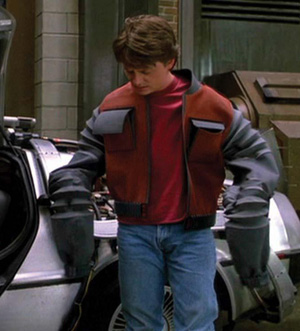 Marty McFly's future-jacket is literally one-size-fits-all