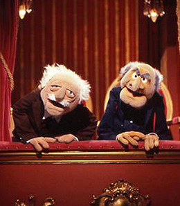 Statler & Waldorf on 'The Muppet Show'