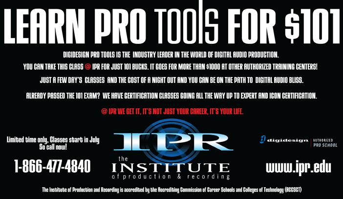 IPR sample ad