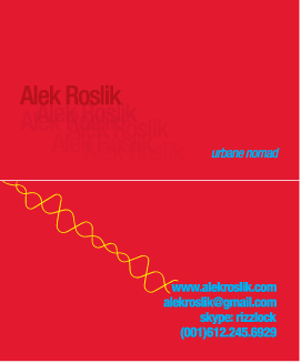 Alek Roslik -Business card design