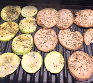 Vegetables for Grilled Vegetable Sandwiches