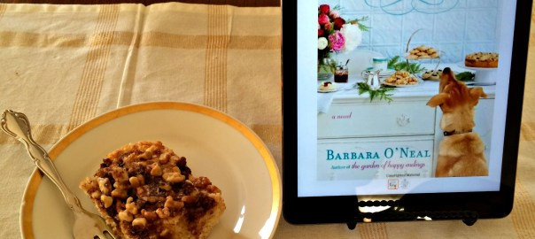 Book Review All You Can Dream Buffet and Super Easy Streusel Cake