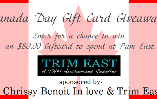 trim east giveaway logo splash