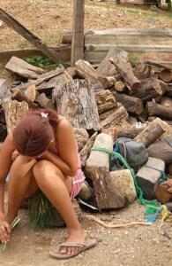 Girl in costa rica, Guanacaste