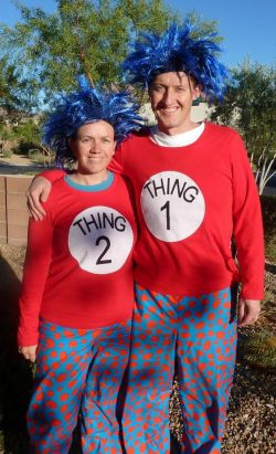 Small Of Thing One And Thing Two Costumes