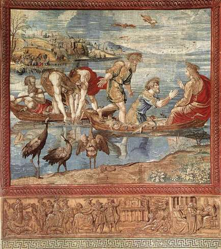 van Aelst, Miraculous Draught of Fishes