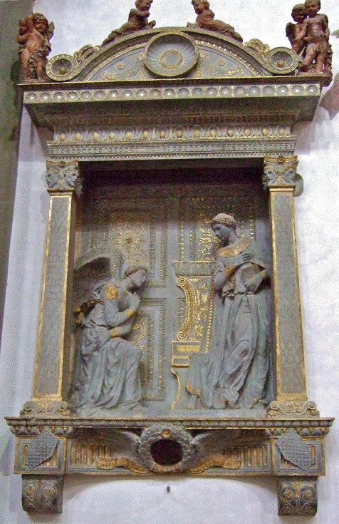 Donatello, Annunciation