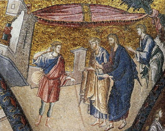 Chora Church, Christ heals the deaf man