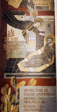 Labouret Workshop, Annunciation to Joseph
