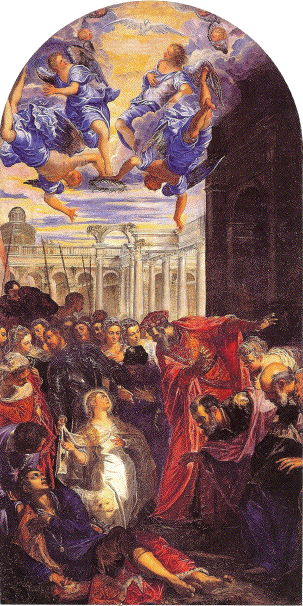 Tintoretto, Miracle of St. Agnes