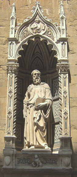 Donatello, St. Mark. Orsanmichele